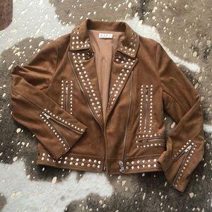 Vici Suede Studded Jacket